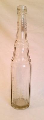 Bottle, vinegar; RA2017.052