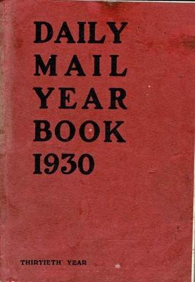Book, Daily Mail Year Book 1930; David Williamson; F-8-K-1999-12-47