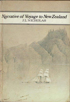 Book, Narrative of Voyage to New Zealand Vol. II; J.L. Nicholas; 2010/3/16