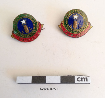 Badges, WDNZFU; pre 1945; K2003/55/A.1