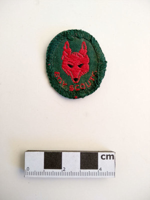Badge, Cub Scout; RA2018.107