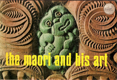 Book, The Maori and his Art; David Parker and Jeremy Commons; 0 7233 0213 8; 2010/3/7