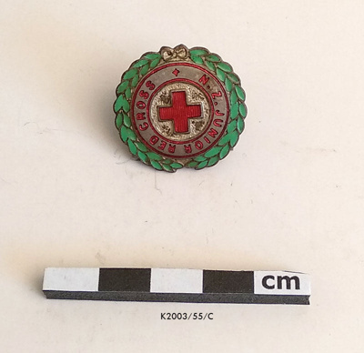 Badge, Red Cross; K2003/55/C