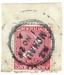 Stamp, Postage Stamp with Mokau Post Office postmark on it; 1923; 2019.004