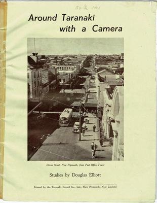 Book, Around Taranaki with a Camera.; Douglas Elliot; 1997-73