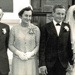 Photo, Jim and Doris Stratton, and Ray and Diane ; David Paul Studio, Hawera; c 1960's; RAP2018.0119
