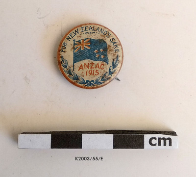 Button, Anzac; K2003/55/E