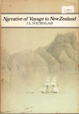 Book,Narrative of Voyage to New Zealand. Vol 1; J.L. Nicholas; 2010/3/14