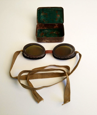 Goggles, WWII desert; S.L.M; 1942; RA2018.046