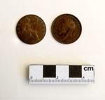 Coin, Half penny; B MacKennal, L Wyon, G De Saulles; 1912; RA2018.102