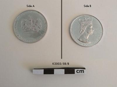 Medallion, Commemorative; 1953; K2003/58/B