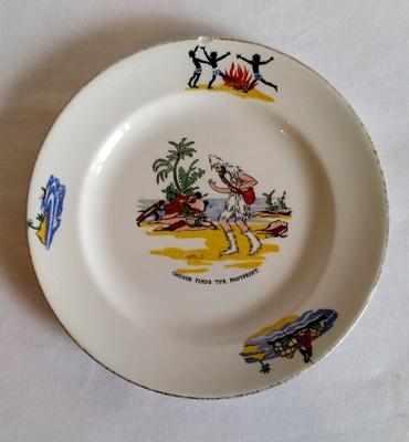 Plate, Child's; Grimwades Ltd; 1982-5c