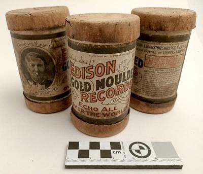 Records, Edison Gramophone; RA2019.327