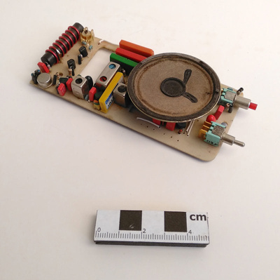 Circuit Board, Telephone Activated Pager; Barrie Carruthers; RA2019.009