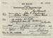 Certificate, CERTIFICATE OF REGISTRATION, 22 caliber rifle, registered to John G Cummings.; 1946; RAA2020.0151