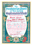 Baptismal Certificate - David Charles Kendall 1956; 1956; 2003/97.18