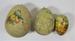 Papier mache decorative Easter eggs; LDMRD 0876.35