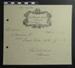 Receipt from G. E. Baughan Redway; G E Baughan Redway; 1937; LDMRD 0682.5