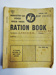 Ministry of Food ration book; c.1953; LDMRD 0091