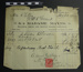 A receipt from Madame Mayes; Madame Mayes; 1914; LDMRD 0529.2