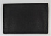 Black leather wallet; E. Stevens; LDMRD 0457