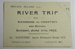 A ticket for a river trip on S.L. 'Countess'.; 1922; LDMRD 0724.2