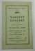 Programme Variety Concert; 1939; LDMRD 0722.5