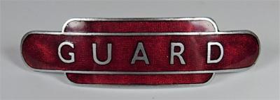 Guard badge; J. R. Gaunt; LDMRD 0063.3