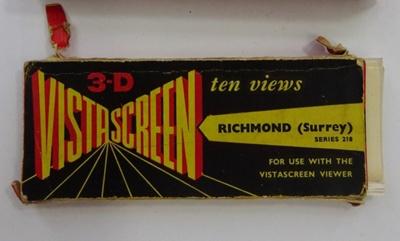 3-D cards of Richmond; LDMRD 0471c-o