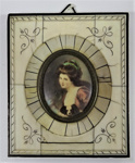 Portrait of Emma Hamilton in Frame; LDMRD 0522.2