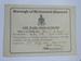 Richmond ARP certificate; 1941; LDMRD 0069