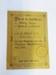 Identity card; 1915; LDMRD 0078