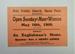 Invitation; 1909; LDMRD 0001.2