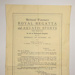 Programme for Watermen's Regatta; Richmond Watermen; 1923; LDMRD 0024.12