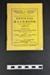 Kingston & District Football League Official Handbook; 1953; LDMRD 2015.139.1