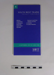 South West Trains Train Timetable; 1995; LDMRD 0612.4