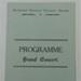 Concert Programme; 1924; LDMRD 0961.8