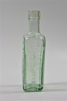 Camp Coffee bottle; Paterson's; LDMRD 0258.3