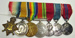 Multiple medals on bar; Royal Mint; 1915; LDMRD 0024.29