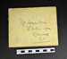 Letter from Buckingham Palace; LDMRD 0085.19