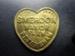 Six pence token; C1204B