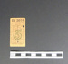 Bus ticket; 1945; LDMRD 0030.4
