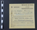 Sugar registration card; 1918; LDMRD 0589.16