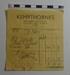 A receipt from Kempthornes; Kempthorne & Phillips Ltd; 1958; LDMRD 0683.10