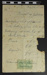 Receipt from J. Adams; J. Adams; 1909; LDMRD 0527.4