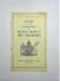 Booklet; 1954; LDMRD 0792.12
