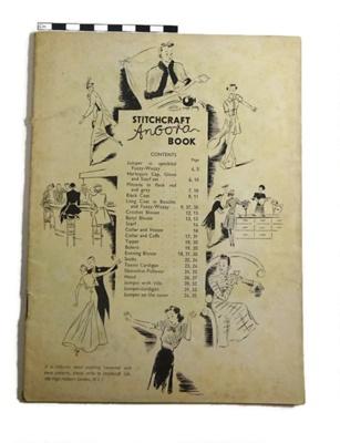 Booklet entitles 'Stitchcraft Angora Book'; Stitchcraft Ltd; c.1940-50; LDMRD 0764.41