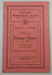 Richmond Horticultural Society Schedule of Prizes; 1922; LDMRD 0961.14
