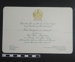 Invitation to Mayoral Dinner 1972; 1972; LDMRD 0582.2
