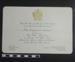 Invitation to Mayoral Dinner 1972; 1972; LDMRD 0582.2